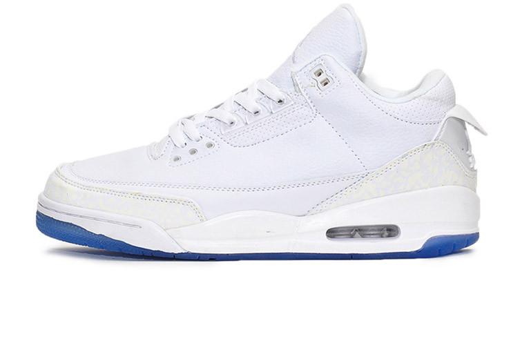 7ee7f576 Мужские Баскетбольные кроссовки Nike Air Jordan 4 Retro All White (Реплика  ААА+)