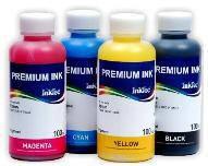 Комплект сублимационных чернил InkTec 4 цвета по 100 мл (Cyan, Magenta, Yellow, Black)