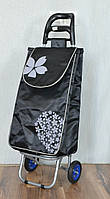 Хозяйственная сумка - тележка с колесами на ПОДШИПНИКАХ и ЦЕЛЬНОМЕТАЛЛИЧЕСКОМ каркасе., фото 1