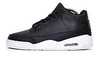 Мужские Баскетбольные кроссовки Nike Air Jordan 4 Retro Black White (Реплика  ААА+) 68114f3d065