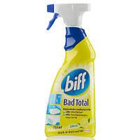 Средство для чистки в ванной и туалете Biff Bad Total Zitrus 750 мл (спрей)
