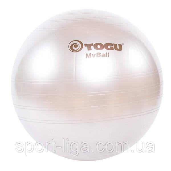 М'яч фітнес Myball TOGU 75 см срібло Фітбол