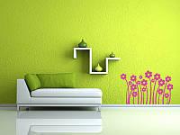 Изготовление декоративных наклеек на стену и другие поверхности