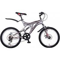 """Велосипед горный Crosser Smart-1 20"""" серый детский серый"""