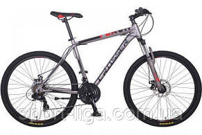 """Велосипед горный алюминиевый Crosser Flash-1 17"""" 24""""  салатовый"""