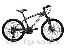 """Велосипед горный алюминиевый Crosser Summer-1 24"""""""
