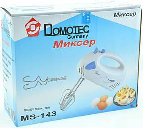 Миксер ручной Domotec MS 143, фото 2