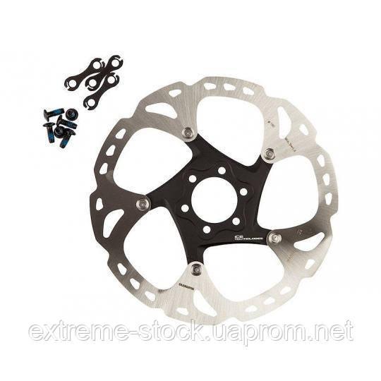 Ротор Shimano Deore XT SM-RT86, 180 mm, Ice-Tech, на пауке