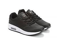 Модные женские черные кроссовки Rapter B806-1