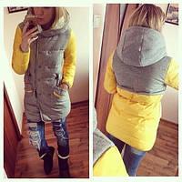 Зимняя женская куртка КРАСНАЯ МЯТА РОЗОВАЯ
