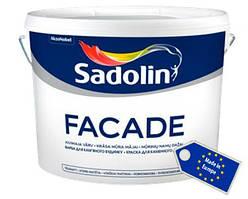 Глубокоматовая краска на водной основе для минеральных фасадов FACADE Sadolin, 10 л