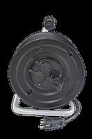 Електричний подовжувач на котушці без заземлюючого контакту перетин 2 * 1,5 мм2
