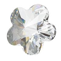 Хрустальные подвески цветок Preciosa (Чехия) 14 мм Crystal