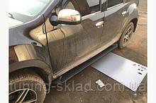 Силовые пороги Dacia Duster I (вариант Allmond Black)
