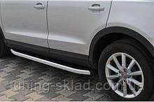 Силовые пороги Dacia Duster I (вариант Fullmond)