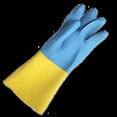 Перчатки химстойкие кислотостойкие RBI-VEX (141)