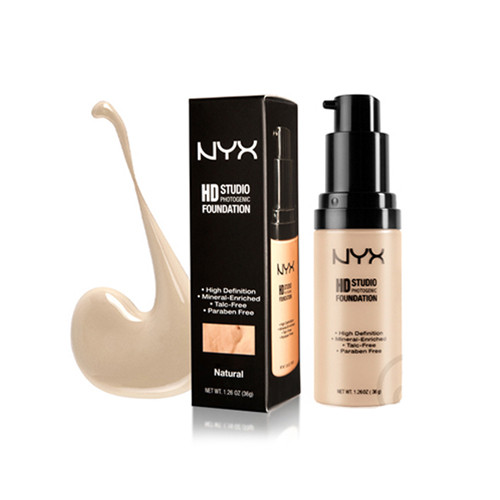 NYX HD Studio Photogenic Foundation Natural