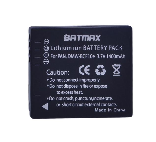 Акумулятор Panasonic DMW-BCF10E / CGA-S/106C (Batmax)