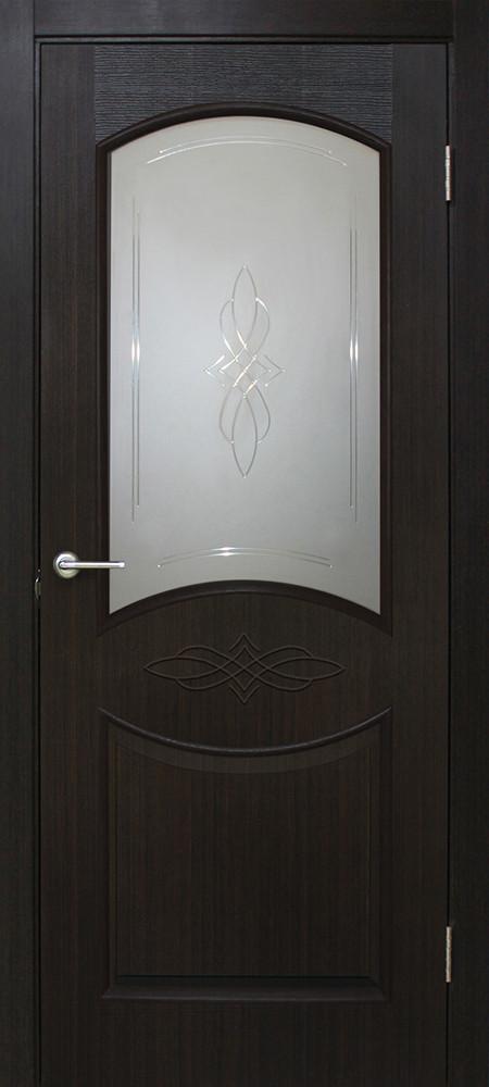 Двери Омис Даниэлла СС+КР ПВХ венге