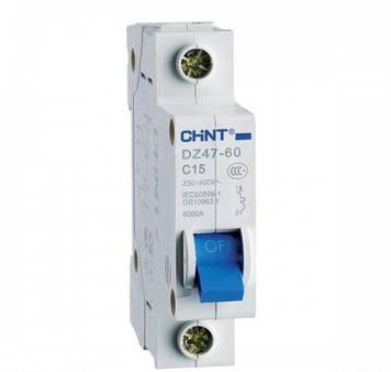 Автоматичний вимикач DZ47-60 1P C20