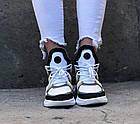 Женские кроссовки Louis Vuitton Archlight White/Yellow (в стиле Луи Витон) белые, фото 8