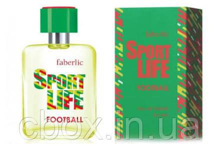Туалетна вода чоловіча SportLife FootBall, Faberlic, СпортЛайф Футбол, Фаберлік, 3239, 50 мл