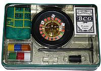 Покерный набор в металлической коробке №500Т-2, фото 1