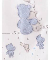 Плед BLUE BEARS KARACA HOME 100x120 см