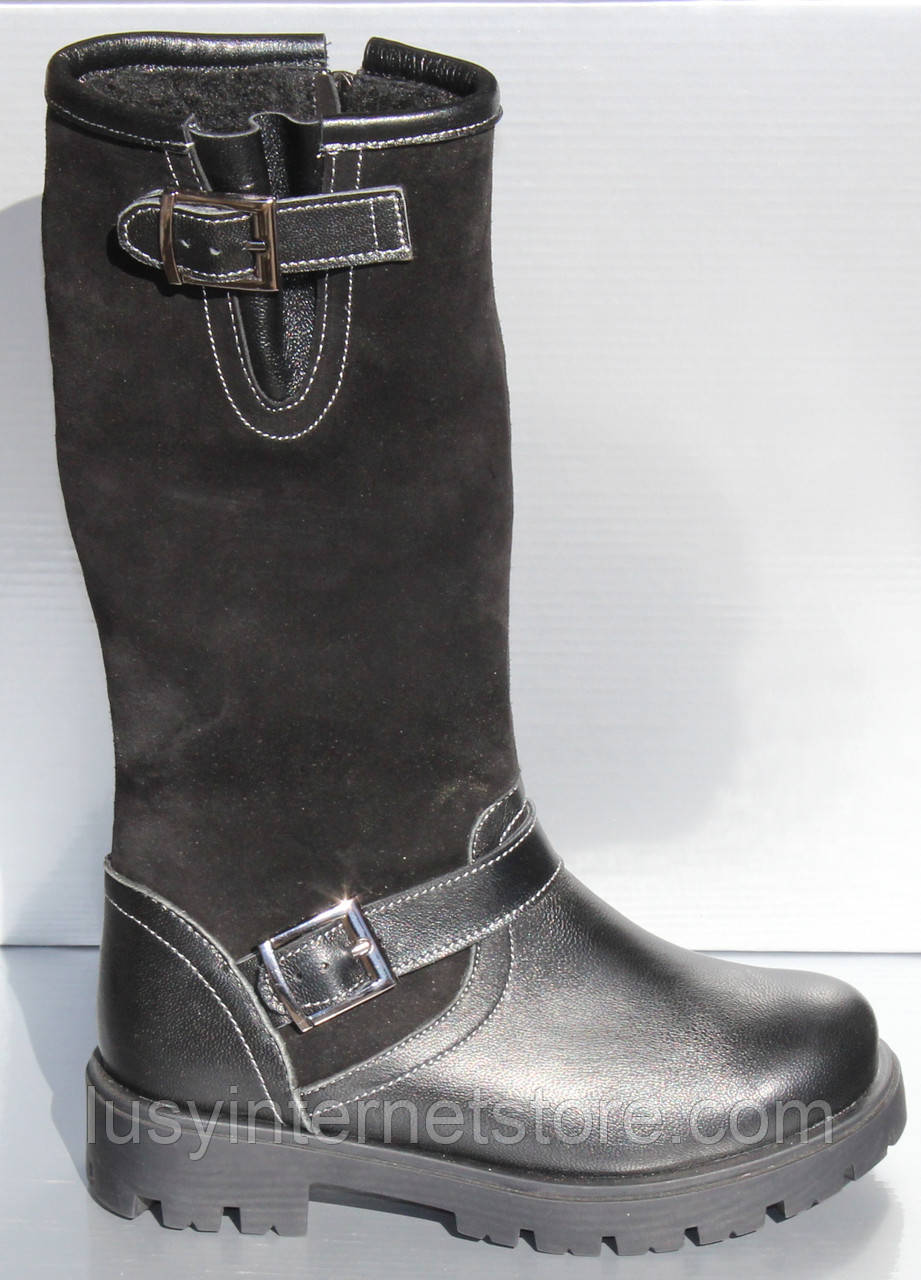 Дитячі чоботи високі зимові від виробника модель ПРО-Д120СР