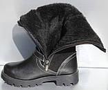 Дитячі чоботи високі зимові від виробника модель ПРО-Д120СР, фото 4