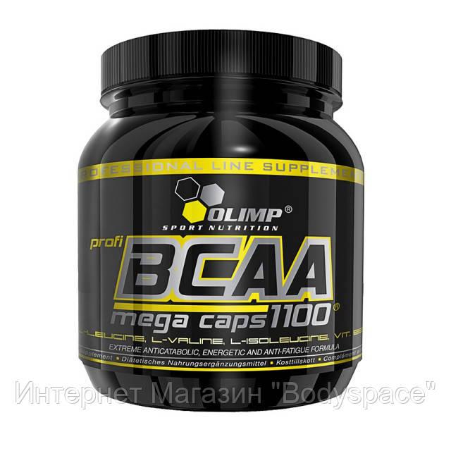 Olimp Labs, Бцаа BCAA Mega Caps 1100, 300 капсул