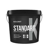 """Standart K декоративная силикон-модифицированная структурная штукатурка """"короед"""", Колорит 25кг"""