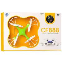 Радиоуправляемый квадрокоптер SKL  Drone с камерой и WIFI CF-888-3 Green