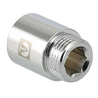 """Подовжувач хромований Valtec 3/4""""х15 мм внутрішня/зовнішня VTr.198.C.0515"""