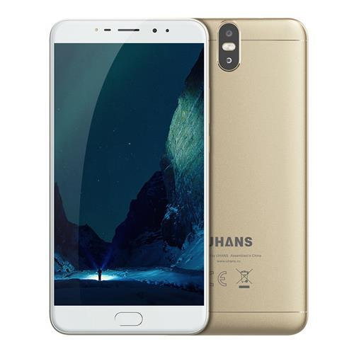 "Смартфон UHANS MAX 2 Gold 6.44"" FHD 4/64ГБ 13+13Мп 4300мАч"