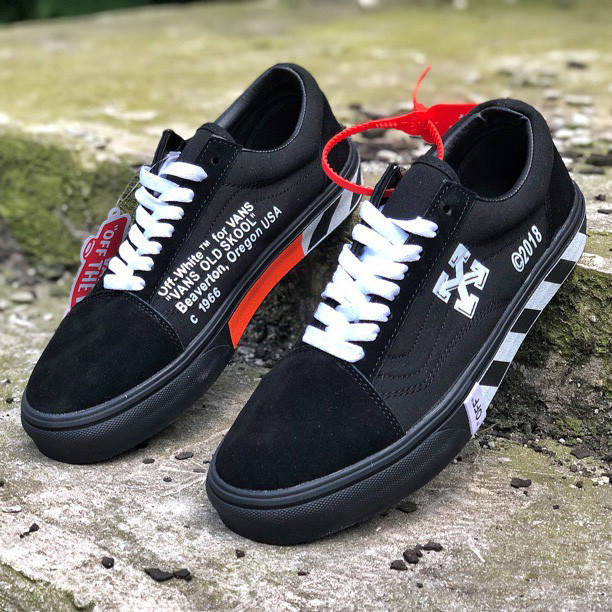 Vans Old Skool x OFF-White  (реплика)