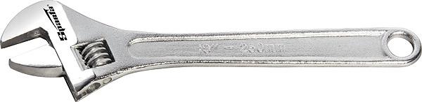 Ключ розвідний, 150 мм, хромований// SPARTA