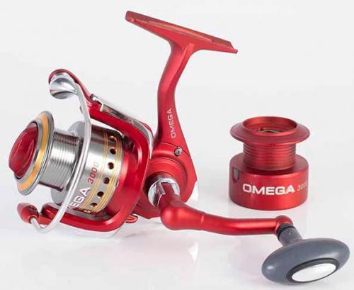 Катушка спининговая OMEGA 4 000 FD / 3+1 BB / +графитовая шпуля