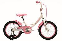 """Велосипед 16"""" Pride MIAOW білий/рожевий 2018"""
