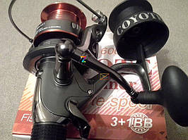 Катушка COYOTE 4 000 BAITRUNNER RD / 3+1 BB + graphite spool