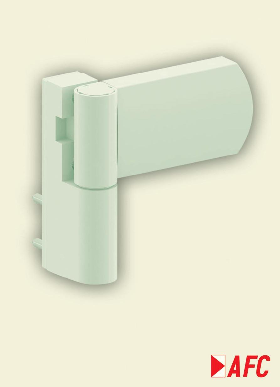 Петля дверна АТ 27 (140 кг) (33) Ral 9016 біла