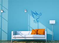 """Изготовление декоративных наклеек на стену и другие поверхности, """"Голубь"""""""