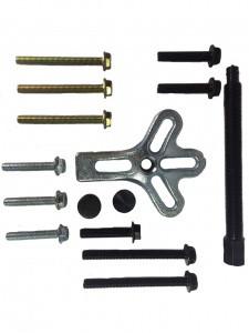 Съемник шкивов, 25-100 мм, 15 предметов 1-D1006