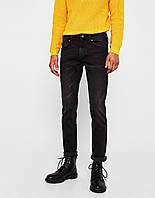 cd95d1a2f7f Джинсы Bershka - Зауженного кроя темно-серого оттенка (чоловічі джинси)