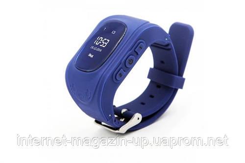 Детские телефон-часы с GPS трекером GOGPS ME K50 Темно синие (K50DBL)   продажа 3c065b63da2cb