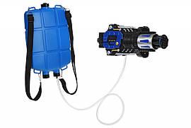 Same Toy Игрушечное оружие Водный электрический бластер с рюкзаком