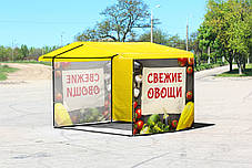 Торговые палатки с печатью, фото 3