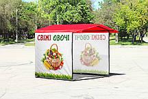 Торговые палатки с печатью, фото 2