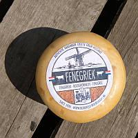 Сыр голландский авторский Fenegriek пажитник 1шт, ± 480г