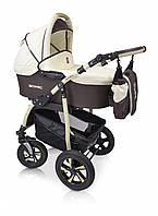 Детская коляска Verdi Sonic 3в1 03 молочно-шоколадный цвет